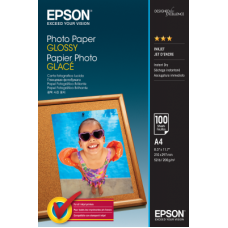 EPSON PHOTO PAPER GLOSSY A4 (100 σελίδες)