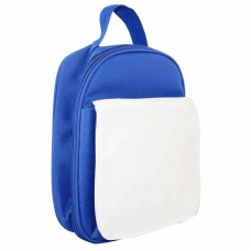 KID'S LUNCH BAG BLUE POLYESTER 18x8.5x23 cm