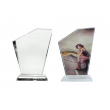 CRYSTAL TRIANGLE  14 x 17 cm (20mm) WITH BOX