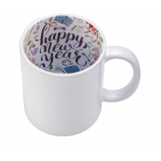 CERAMIC MUG 11oz GLOSS (PRINT INSIDE)