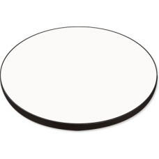 MR-MDF TABLE TOP ROUND semi-gloss WHITE diam. 74.6